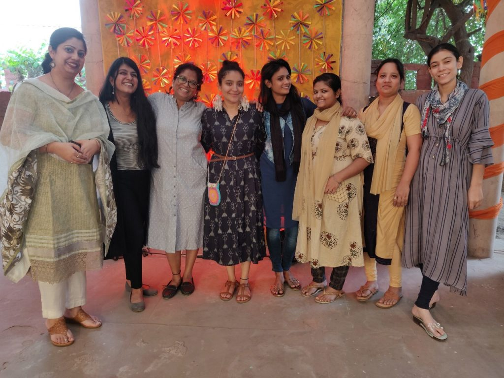 Meenakshi and her team of girls behind 'Upcycling Artist' that bring to you may green products