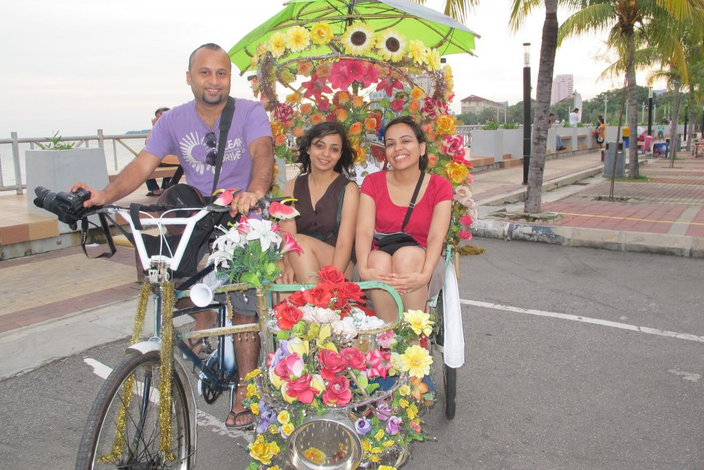 Our first trip to Malacca, Malaysia in 2011